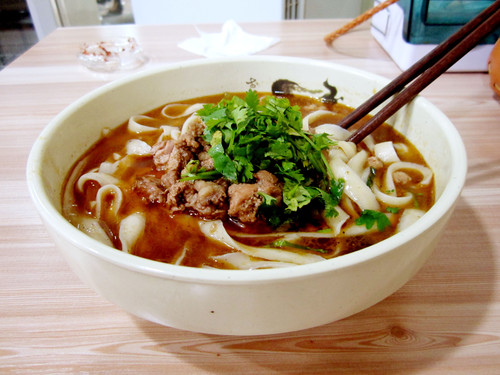 Slided Noodles in Huai'an City